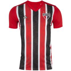 Camisa do São Paulo II adidas 20 - Masculina - VERMELHO/BRANCO