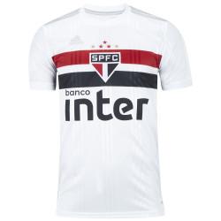 Camisa do São Paulo I 2020 adidas - Masculina - BRANCO/VERMELHO
