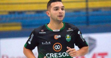 Rodrigo Canabarro vai jogar na Itália. Crédito: Divulgação