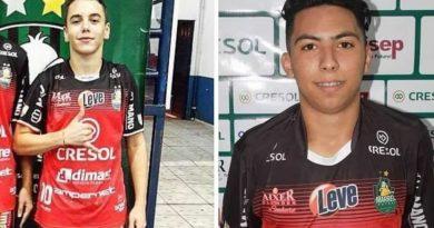 Clube lamentou morte dos jogadores | Divulgação