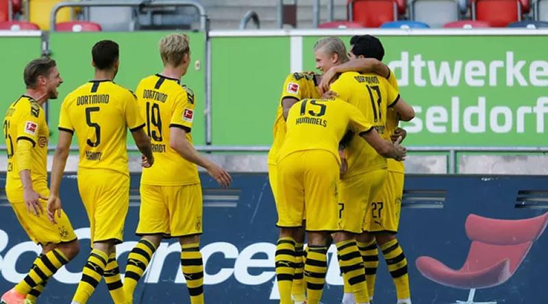 Vitória do Borussia Dortmund saiu no apagar das luzes
