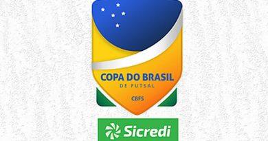 Copa do Brasil de Futsal começa nesta terça