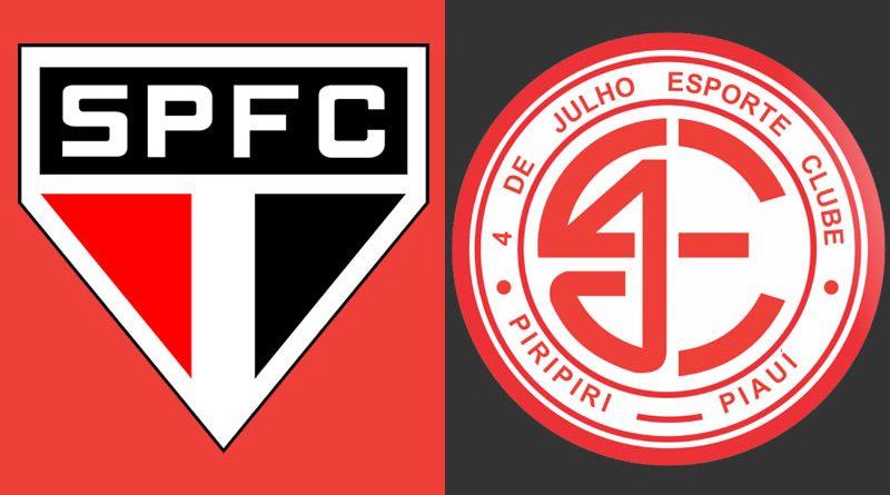 Saiba onde assistir São Paulo x 4 de Julho ao vivo